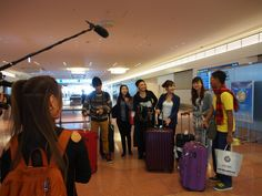 "The six ""Ramen Exchange Students"" In Haneda Airport! #ramen #japan #asean #SoutheastAsia #jnto #jed"