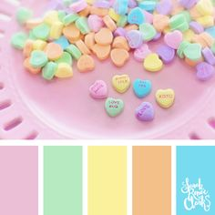 20 Color Ideas For Valentine's Day   See all 20 color schemes for inspiration at http://sarahrenaeclark.com