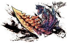 Monster Hunter Fanart - Dinovaldo