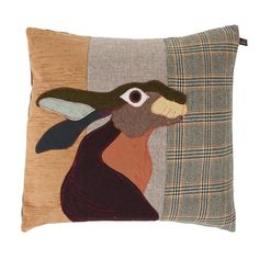 Discover the Carola Van Dyke Hare Cushion at Amara