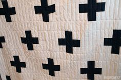 DIY Swiss Cross Quilt
