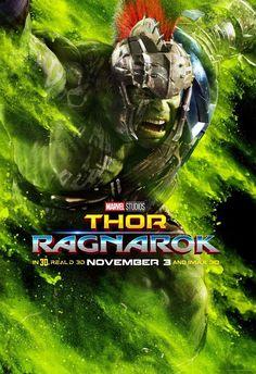 Thor: Ragnarok - Hulk Gladiador (2017, Novo Pôster Imax).