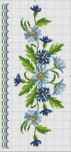 Cross Stitch Heart, Cross Stitch Flowers, Cross Stitching, Cross Stitch Embroidery, Cross Stitch Designs, Cross Stitch Patterns, Beginning Embroidery, Crochet Shoulder Bags, Stitch Cartoon