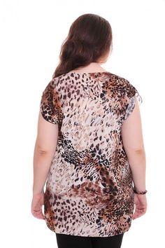 Блузка А5882 Размеры: 62-70 Цена: 345 руб.  http://optom24.ru/bluzka-a5882/  #одежда #женщинам #блузки #оптом24
