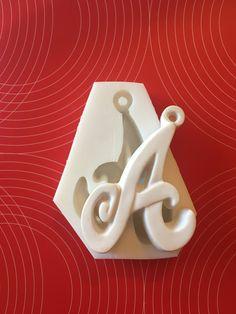 Stampo silicone lettere alfabeto, by piccolisogni, 8,00 € su misshobby.com