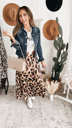 Next Time Satin Leopard Print Midi Skirt, Free Shipping! #girl #trend #trendy #love #fun #look #me #LLS #photooftheday #supportsmallbusiness Spring Outfits, Winter Outfits, The Perfect Girl, Trendy Girl, Autumn Day, Black Bodysuit, Sophisticated Style, Girls Night Out, Alternative Fashion