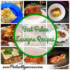 The best 25 Paleo lasagna recipes on the net. Who needs noodles when you can use zucchini, plantains, sweet potatoes, eggplants, and more?