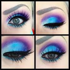 Resultado de imagen para maquillaje de ojos color azul                                                                                                                                                      Más