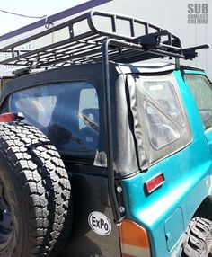 rare suzuki sidekick oem roof rack which was a factory. Black Bedroom Furniture Sets. Home Design Ideas