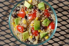 Chunky Southwestern Quinoa Salad - Fit Foodie Finds