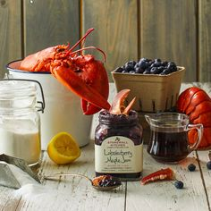 Local jammery Stonewall Kitchen has a special flavor that captures all the iconic tastes of Maine in one jar. Only available today so get your order in. ;) #StonewallKitchen