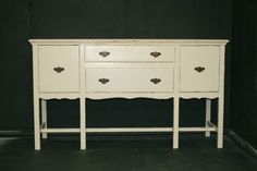 The Perfect Console/Server in Veranda Ivory on Etsy, $415.00