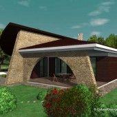 Casa parter 2 | Proiecte de case personalizate | Arhitect Gabriel Georgescu & Echipa Gazebo, Outdoor Structures, Mansions, Case, House Styles, Outdoor Decor, Home Decor, Template, Kiosk