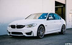 An Alpine White BMW F80 M3 Build For The Purists - http://www.bmwblog.com/2017/01/02/alpine-white-bmw-f80-m3-build-purists/