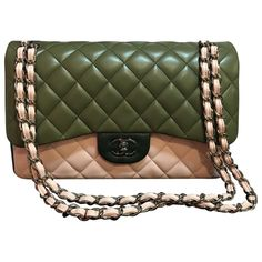 Leather CHANEL Handbag - Vestiaire Collective