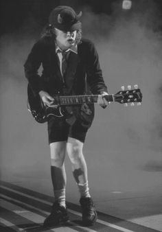 AC/DC- Angus Young
