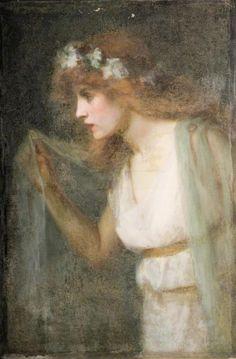 Sarah Page -   Whisper of Spring, 1910.