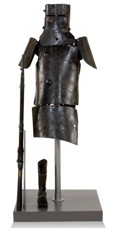 The full armour Ned Kelly wore (State Library of Victoria) Ned Kelly, Australia Facts, English Posters, Australian Bush, The Lone Ranger, British Army, Victoria, History, Metal Projects