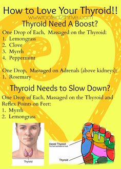 Thyroid needs a little boost or some taming?