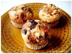 Moja Mała Cukiernia: Muffiny pomarańczowe z gorzką czekoladą pomarańczową i krówkami Breakfast, Food, Morning Coffee, Essen, Meals, Yemek, Eten