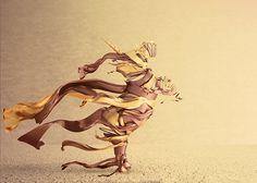 The golden unicorn -by Gabriela Thiery Princess Zelda, Illustration, Fabric, Unicorn, Fictional Characters, Art, Universe, Tejido, Art Background