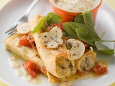 Cannelloni mit Pilzfüllung ist ein Rezept mit frischen Zutaten aus der Kategorie Nudeln. Probieren Sie dieses und weitere Rezepte von EAT SMARTER!