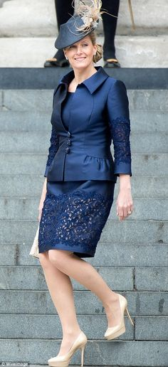 HRH Sophie, Countess of Wessex, St. Paul's Cathedral - 04/06/12