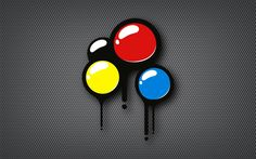Primary Color Dots