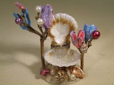 fairy gardenseashells - Google Search