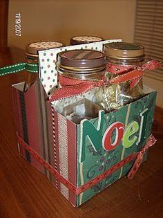 Great Gift Idea!  Recycle Starbucks Frappucino Bottles.
