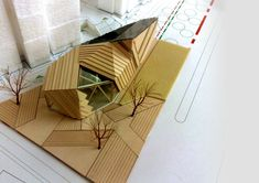 Site Model Architects: Mochen Architects & Engineers Location: Tianjin, China Completion: 2011 Project Area: 1,245 sqm Client: Tianjin Eco-City Wantuo