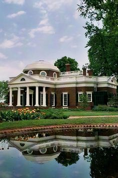 Monticello- Thomas Jefferson's house