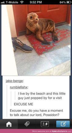 I'd let him talk