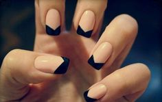 Your nails will look gorgeous onevery occasion. Geometric French design