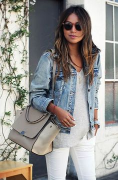 311 Best Denim Jacket Outfits Images In 2019 Casual Outfits