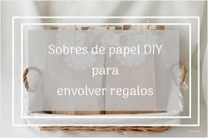 Cómo hacer sobres de papel DIY para envolver regalos de boda / Primera Comunión  / Quinceañera / How to make DIY paper envelopes to wrap wedding / Communion gifts