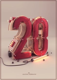 /// 100 Creativ numberz /// on Behance
