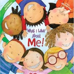 What I Like About Me by Allia Zobel Nolan makes a great class for grades to build self esteem and talk about diversity . All About Me Crafts, All About Me Preschool, All About Me Activities, Preschool Books, Preschool Classroom, Preschool Activities, Classroom Ideas, Reggio Classroom, Kindergarten Books