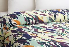 DIANE VON FURSTENBERG Brush Strokes Duvet- its like sleeping in a watercolor painting