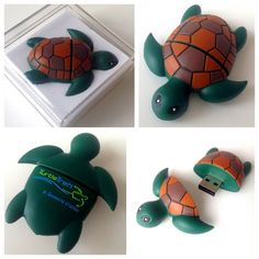 Very cute Turtletrek USB-stick that we received from SeaWorld.