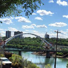Waltzer dale Bridge in Edmonton