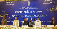 President gave away National Tourism Awards 2013-14   TRAVELMAIL