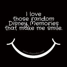 Name a Disney moment that still makes you smile...