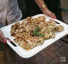 Lemon Herb Encrusted Chicken recipe by In My Own Style