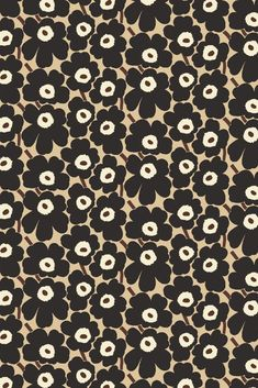 specializes in Finnish and Scandinavian design featuring Marimekko, iittala, Ilse Jacobsen, Ritva Falla & more. Marimekko Wallpaper, Marimekko Fabric, Print Wallpaper, Flower Wallpaper, Pattern Wallpaper, Iphone Wallpaper, Cool Patterns, Print Patterns, Antique Prints