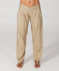 Look what I found on #zulily! Sand Lounge Pants #zulilyfinds