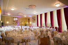 Welcome to The Castle Oaks House Hotel in Limerick. Located in Castleconnell, beside the River Shannon, our manor house is the perfect destination. Oaks House, Country House Hotels, Ireland, Wedding Venues, Castle, Gowns, Weddings, Table Decorations, Contemporary