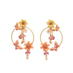 Les Nereides - Joli Mois de Mai hoop earrings