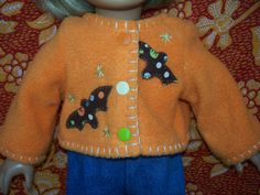 American Girl Doll Clothes  JUST BATTY by KingsLittleBlessings, $10.00