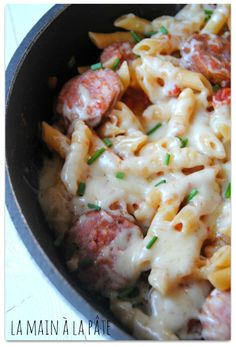 One pot pasta version Franc-Comtoise - La main à la pâte